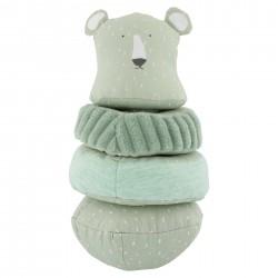 Kūdikio žaislas užmaunamais žiedais Mr. Polar Bear