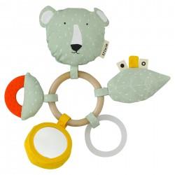 Žaislas žiedai Mr. Polar Bear