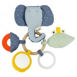 Žaislas žiedai Mrs. Elephant