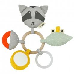 Žaislas žiedai Mr. Raccoon
